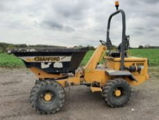 3 tonne swivel tip Barford dumper, 2007, new clutch fitted 4 weeks ago ready to work.