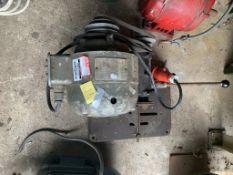 Newmay 3 phase 400/440V 2850 No. K068502. Stored near Gorleston, Norfolk. No VAT on this item.