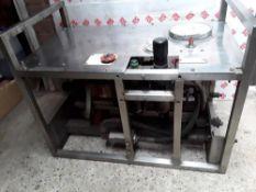 Pressure Intensifier fitted with SC Hydraulic pump. Stored near Belton, Norfolk.