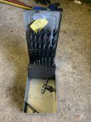 1 box of drill bits. Stored near Gorleston, Norfolk. No VAT on this item.