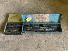 2 x boxes of misc drill bits. Stored near Gorleston, Norfolk. No VAT on this item.