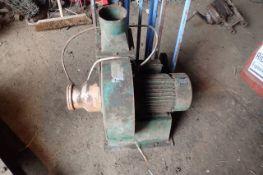 Multico Junior 240v 2hp Blower. Stored near Harleston, Norfolk.