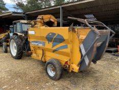 Lucas G Castor 30RUT Straw Chopper Blower, Self Loading, Cable controlled.