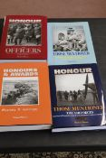 """""""Honour the Officers"""", """"Honours and Awards 1854-1914 and 1920-1939"""","""