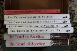 """""""The Cross of Sacrifice"""", volumes I-IV, together with """"The Bond of Sacrifice"""","""