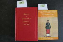 """""""Services of British Army Officers 1939-45"""","""