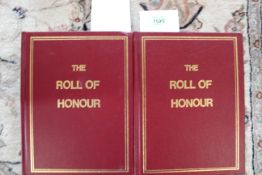 """""""De Ruvigny's Roll of Honour"""", two volumes,"""