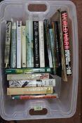 Seventeen various military reference books,