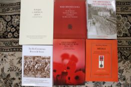 """""""Historical Record of Medals and Honourary Distinctions"""", by Tacred, soft back reprint,"""