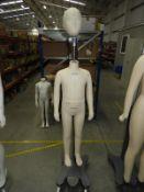 *Alvaform Boy Girl 6 Year 116cm Dressmakers Mannequin