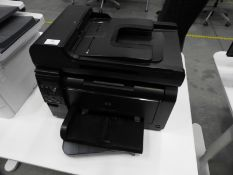 *HP Laserjet 100 Colour MFP Printer Model: M175A