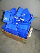 *Quantity of Blue Plastic Storage Boxes