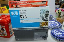 Printer Cartridges, Long Arm Stapler, etc.
