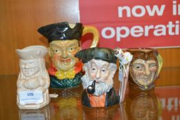 Four Character Jugs