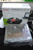 Ion Power Play LP USB Turntable (As New & Boxed)