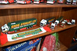 Seven Eddie Stobart Trucks and Vans, etc.