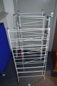 Four Folding Metal Laundry Drying Racks