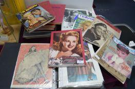 Hollywood Movie Books, Magazines, Photographs, etc