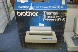 Boxed Brother Thermal Transfer Printer