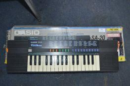 Casio Electronic Keyboard SA20