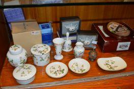 Wedgwood and Other Ceramic Items plus lakeland Stu