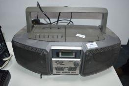 Panasonic Portable Cassette CD Player