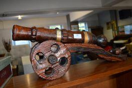 Wood & Brass Canon