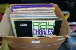 "Box of 12"" LP Records"