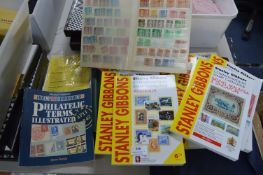Stanley Gibbons Stamp Catalogues, Albums, etc.