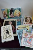 Betty Grable Collectors Magazines and Hollywood Bo