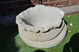 Garden Planter in the Form of a Sack