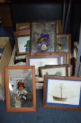 Framed Posters and Prints Including Paddington Bea