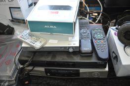 Panasonic Digital Receiver, Humax and Alba Digibox