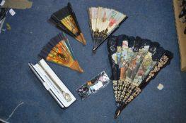 Oriental Fans, etc.