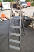 5 Tread Aluminium Step Ladder