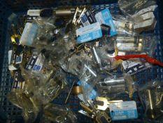 *Box of Barrel Locks and Keys