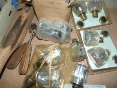 Small Quantity of Tap Fittings and Plumbing Tools