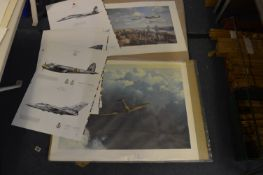 WWII Aviation Prints - Spitfires, etc.