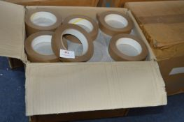 72 Rolls of 25mm Brown Framer's Tape