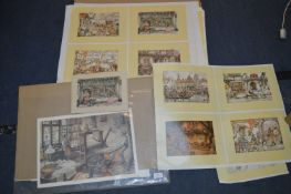 Small Prints by Anton Pieck