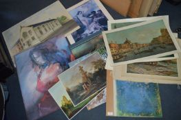 Mounted Prints, Original Paintings, etc.