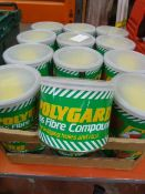24 Tins of Polyguard Glass Fibre Compound Kit No.