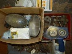 Miscellaneous Boxes of Electric & Plumbing Fitting