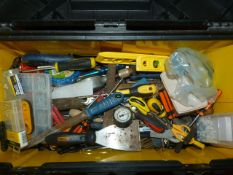 Toolbox and Assorted Tools & Fittings