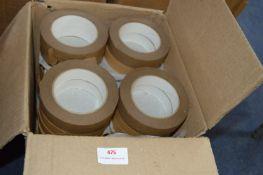 36 Rolls of 25mm Brown Cobra Framer's Tape