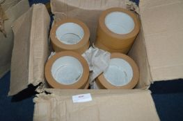 21 Rolls of 50mm Gummed Framer's Tape