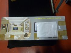*TV Bracket and DVD Stand