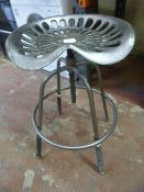 *Wind Up Tractor Seat Stool