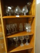 Quantity of Assorted Drinking Glasses