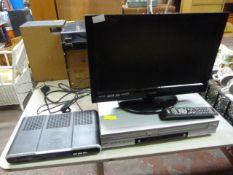 Logik TV, digibox & LG DVD Video player